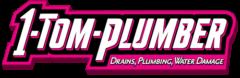 1 Tom Plumber Logo Drains Plumbing Water Damage