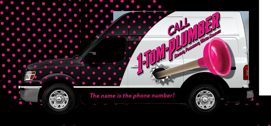 1 Tom Plumber Truck